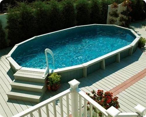 Pools Above Ground Pool Decks Deck Ideas Outdoor