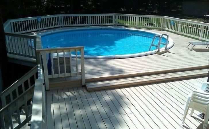 Pools Backyards Decks Bing Above
