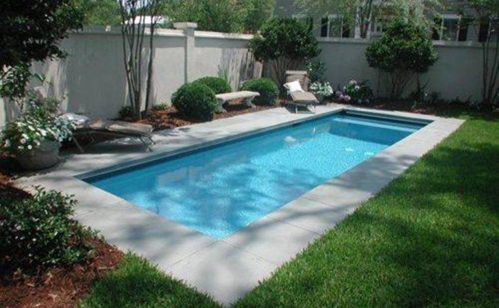 Pools Designs Interesting Small Backyard Minimalist Pool Design