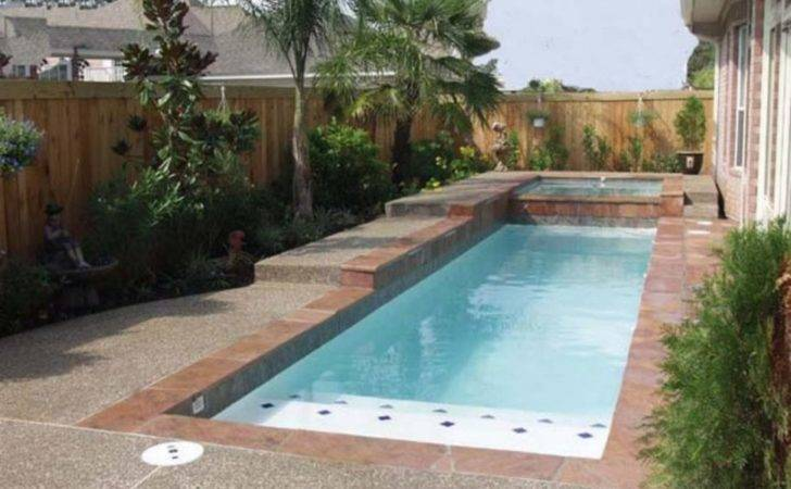Pools Designs Small Yards Also Swimming Cute
