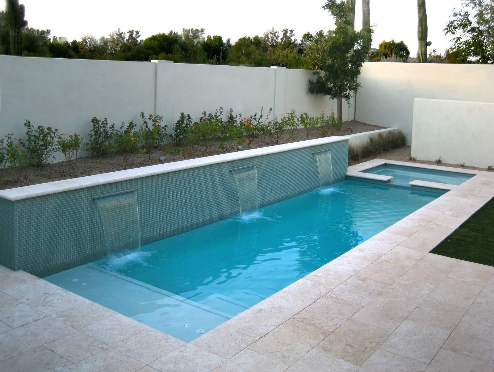 Pools Small Backyard Ideas Yard Great Pool