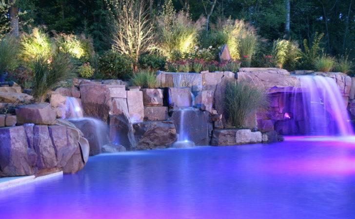 Pools Waterfalls Backyard Swimming Natural