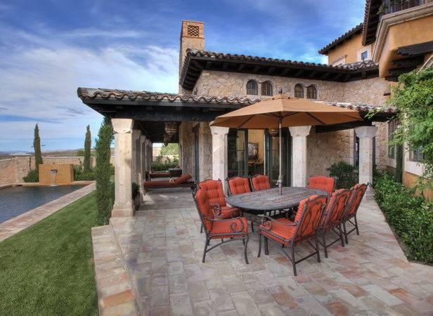 Poolside Patios Outdoor Spaces Patio Ideas Decks Gardens Hgtv