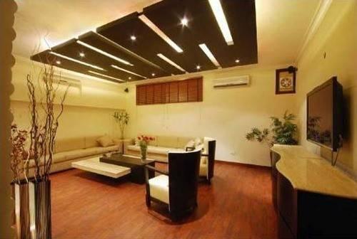 Pop Ceiling Living Room Design Service Provider