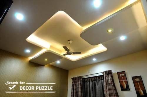 Pop Design Roof Ceiling Led Lights Living Room