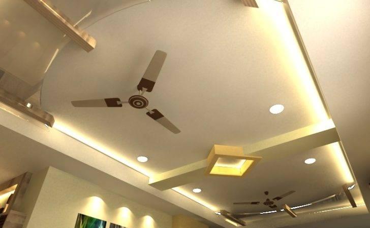 Pop False Ceiling Lighiting Living Room