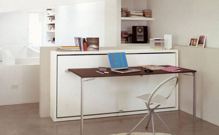 Poppi Desk Wall Bed Clei Anima Domus