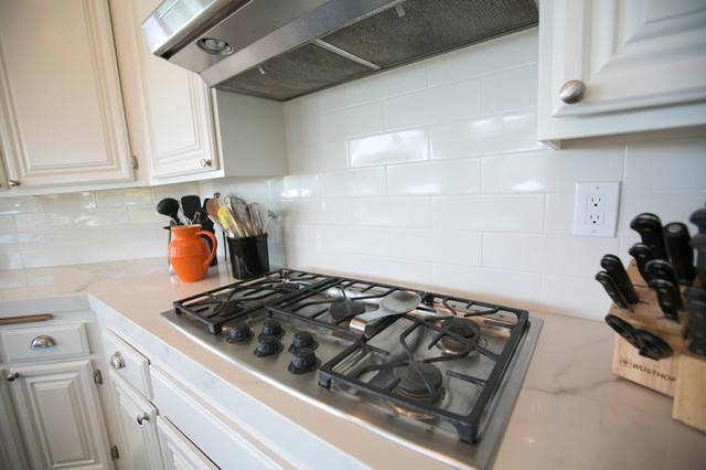 Porcelain Slab Kitchen Countertop Laguna Niguel Transitional