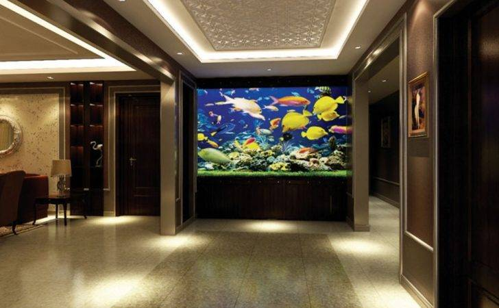Porch Aquarium Design Rendering Interior