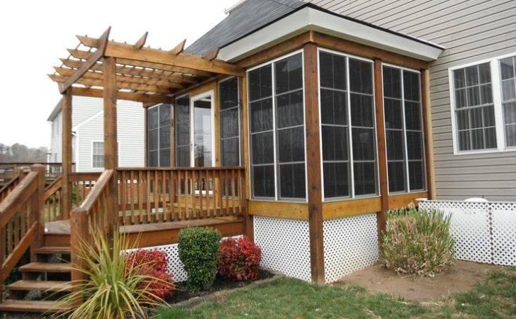 Porch Panels Panel Installation Season Room Screen