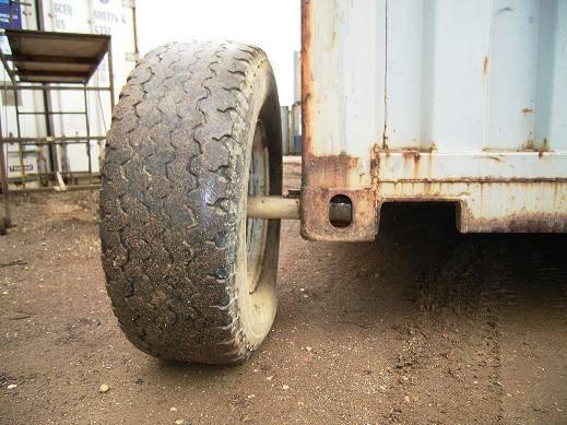 Portable Wheels Rural Container Supplies