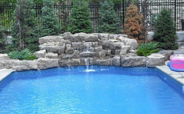 Portfolio Swimming Pool Waterfalls