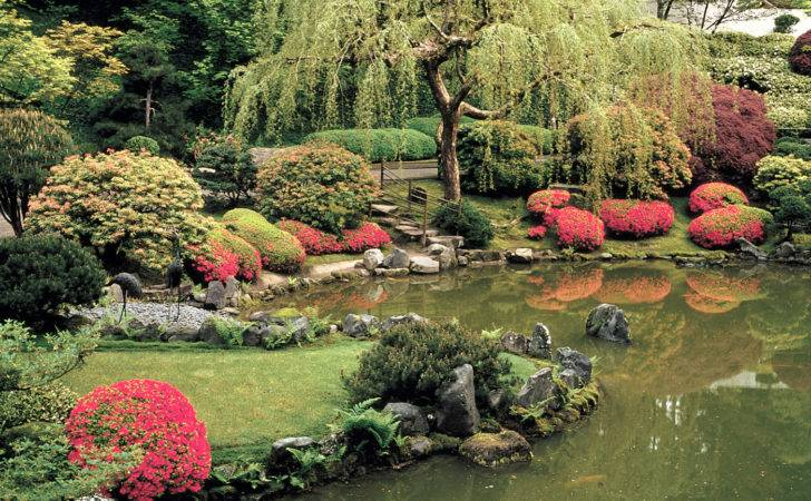 Portland Japanese Garden Place Serenity Beauty Places