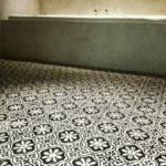 Portuguese Cement Tiles Black White