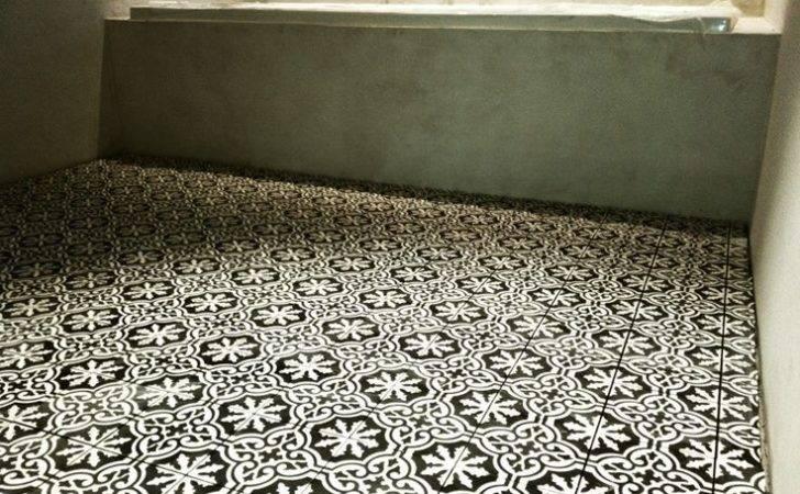 Portuguese Cement Tiles Black White