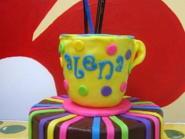 Pottery Painting Party Ideas Pinterest Favors