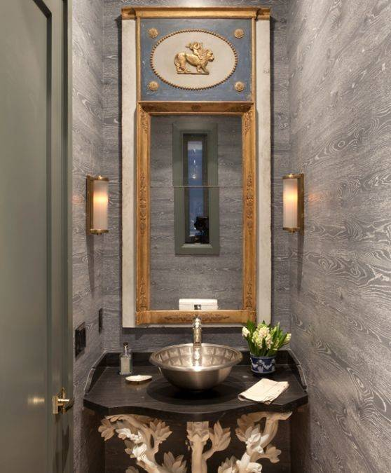 Powder Room Benjamin Hong Home Decor Pinterest