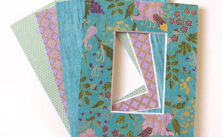 Pre Cut Frame Mats Decorative Gift Set
