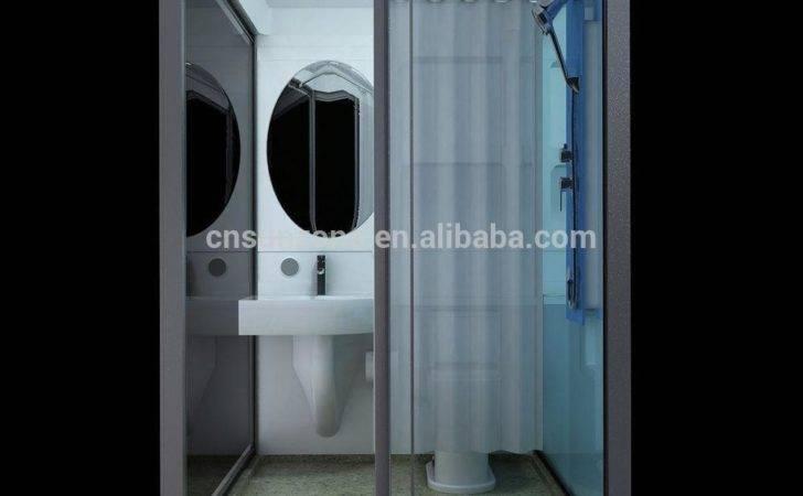 Prefab Bathroom Pods Toilet Modular Shower Cabin