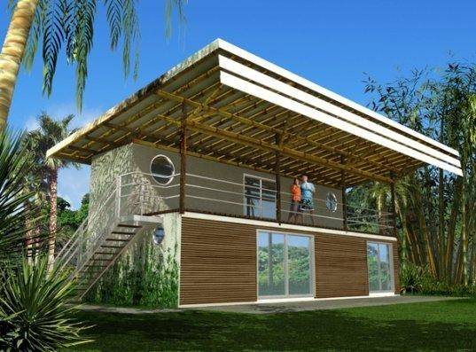 Prefab Friday Container Homes Tropics Bamboogroves