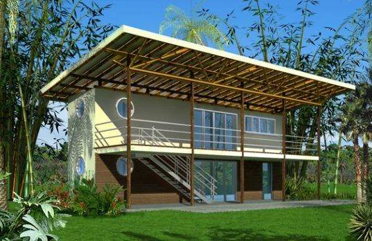 Prefab Friday Container Homes Tropics