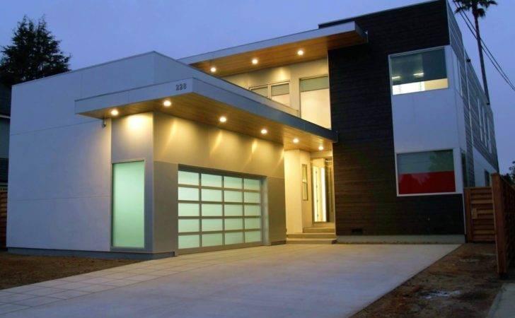 Prefab Homes Designed Clever Exterior Front