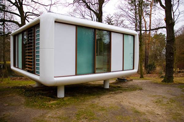 Prefab Loft Cube House Modern Style Minimalist