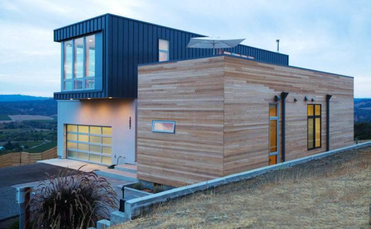 Prefab Modular Home Hills Sonoma County Design Milk