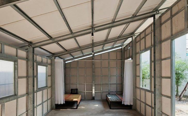 Prefab Tiny House Steel Lattice Structure Assembles Hours