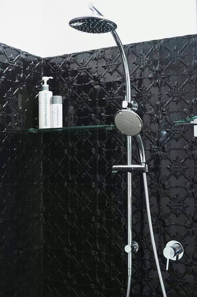 Pressed Tin Shower Ceilings Backsplashes Pinterest