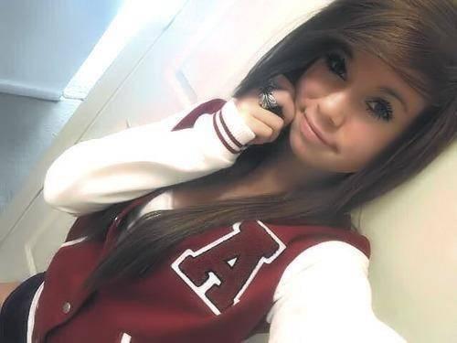 Pretty Girl Brown Hair Tumblr Teen Girls