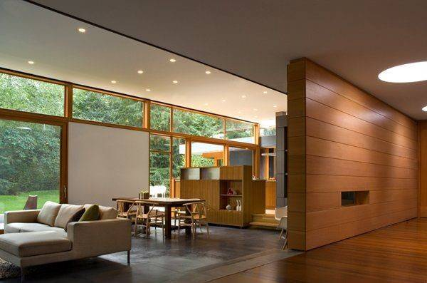 Previously Dark Disorganized Mid Century Modern Home