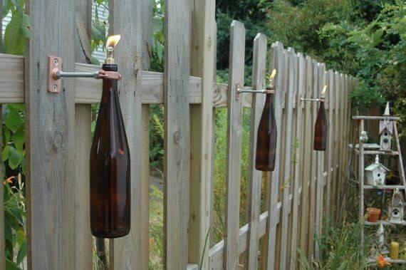 Price Wine Bottle Tiki Torches Pineknobsandcrickets