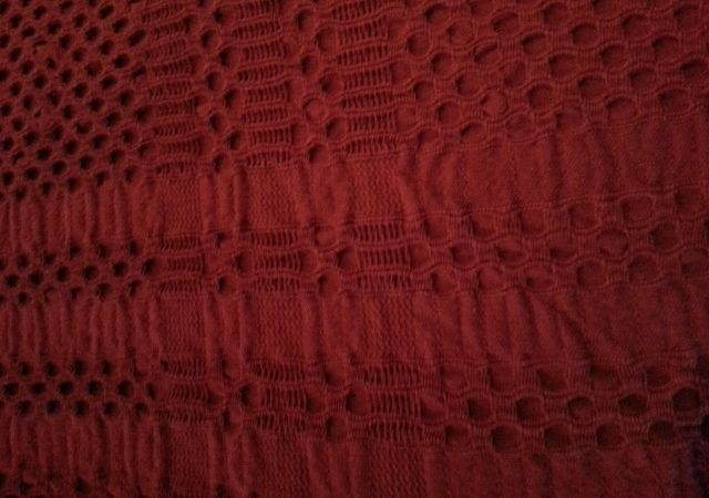 Primitive Heirloom Weavers Brick Angstadt Blanket