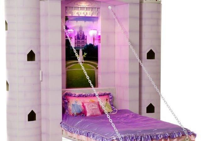 Princess Castle Bed Contemporary Kids Beds Vancouver