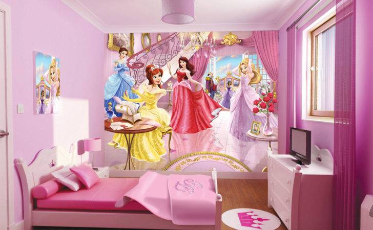 Princess Kids Room Disney Comes