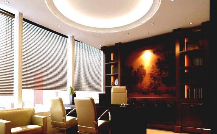 Principal Office Interior Design House Modern Ceo