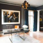 Print Andy Warhol Iconic Chanel Hangs Above