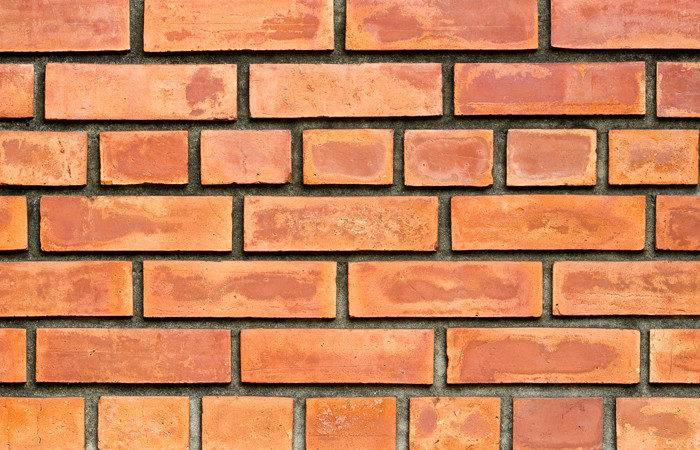 Printed Glass Textures Red Brick Wall Splashback