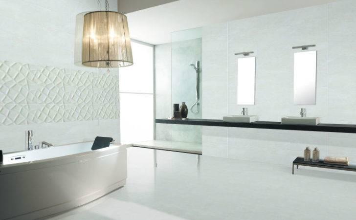 Printing White Bathroom Ceramic Tiles Tile Toscana