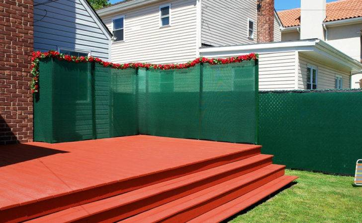 Privacy Fence Ideas Chain Link Screen