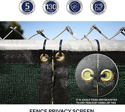 Privacy Fence Screen Chain Link Fencing Cover Materials