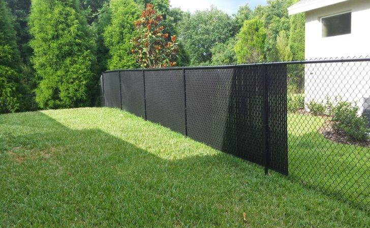 Privacy Fence Slats Great Solution Your Chain Link