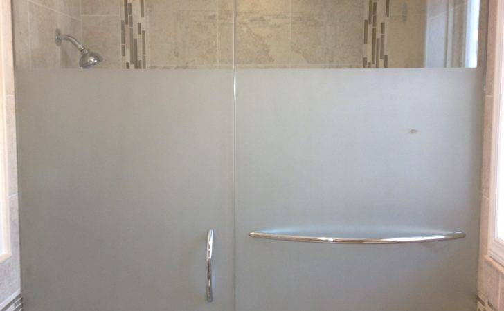 Privacy Film Glass Shower Doors Ideas