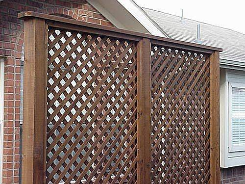 Privacy Screens Can Constructed Most Materials Timber