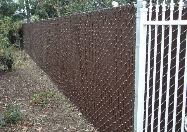 Privacy Your Existing Fence Have Slats Chain Link