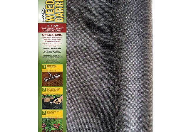 Pro Ion Weed Barrier Landscape Fabric