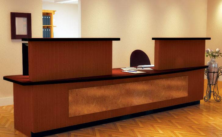 Product Name Receptionist Desk Wide Modern Reception Has