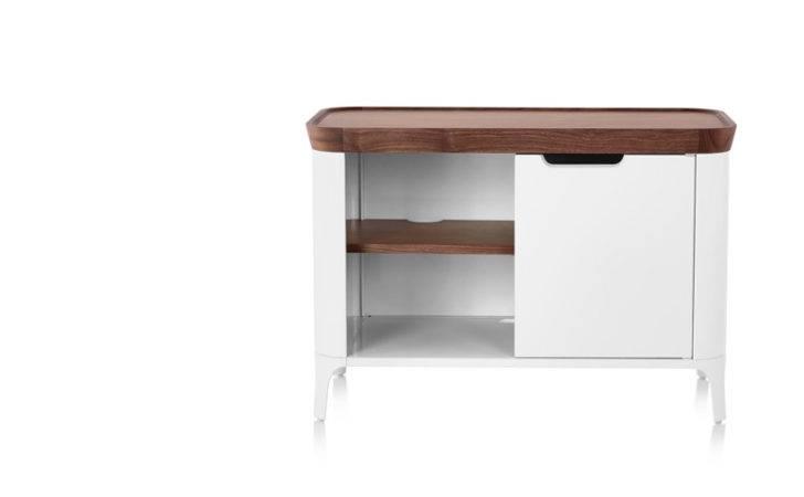 Products Workspaces Desks Airia Desk Media Cabinet