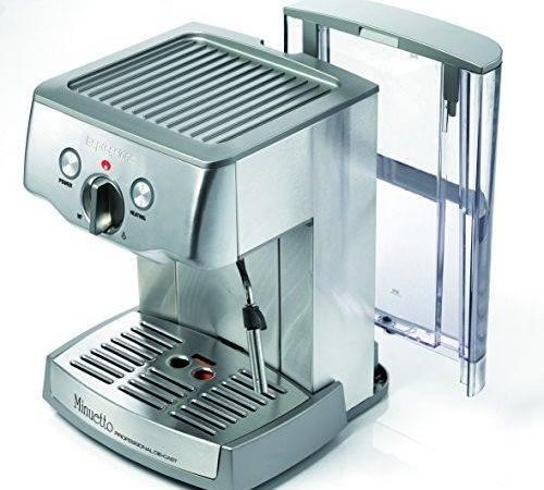 Professional Die Cast Espresso Cappuccino Maker Silver Coffee Pigs